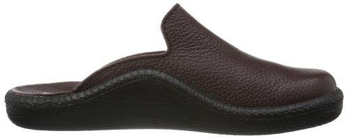 Romika Mokasso 202 G 71002 96 100 - Zapatillas de casa para hombre Rojo (Rot (bordo 403))