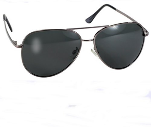 Aviator Pacific Coast Sunglasses (Kickstart Polarized Pilot Aviator Sunglasses Large Frame Fishing Biker UV400)