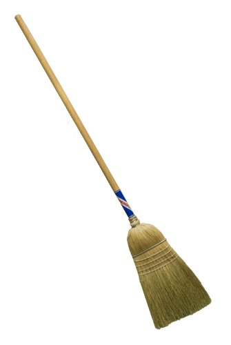 Magnolia Brush 5032-Boxed 100% Selected Broom Corn Warehouse Broom with Heavy-Duty Handle (Case of 12) by Magnolia Brush