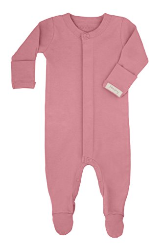 bonamy Baby Unisex Organic Cotton Gloved Sleeve (Magenta Snap)
