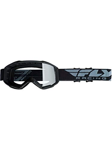 Fly Racing 2019 Youth Focus Goggles (BLACK)