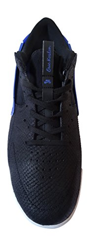 Nike Men Eric Koston Huarache Skater Scarpe Nero / Blu / Bianco (nero / Nero-gioco Reale-bianco)