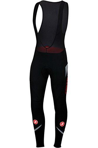 Castelli Polare 2 Bib Tight - Men's Black/Reflex, XL by Castelli (Image #1)