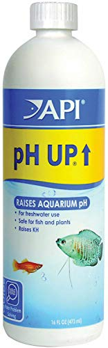 - API pH Up Aquarium pH Treatment Professional Size, 16 Ounce, 12 Pack