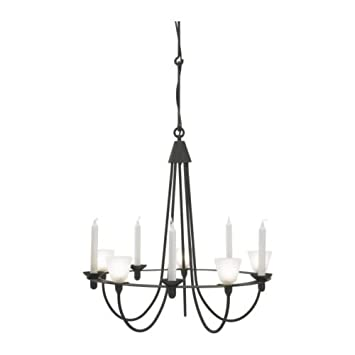 Ikea Kronleuchter Schwarz ikea lerdal chandelier black glass amazon co uk kitchen home