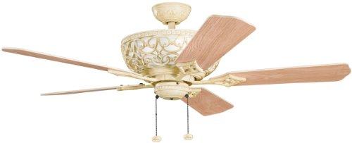 Kichler 300113AW Cortez 52-Inch Cortez Fan, Aged White