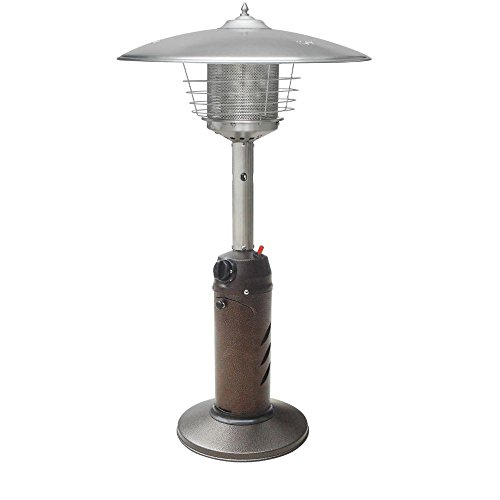 Gardensun HPS-C-PC 11,000 BTU Bronze Tabletop Propane Gas Patio Heater by Garden Sun