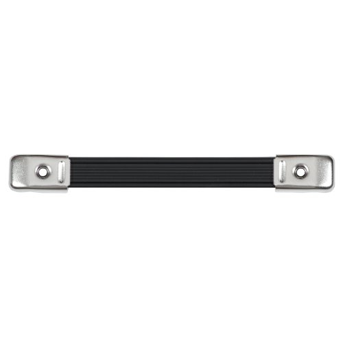 mpany RH-0580-A Cabinet Heavy Duty Strap Handle, Nickle End Caps (Amp Head Road Case)