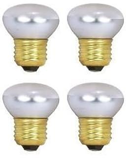 HC Lighting   R14 Reflector 40 Watt 120V/130V Dimmable E26 Standard Screw  Base