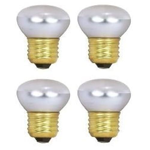 Cheap HC Lighting - R14 Reflector 25-Watt 120V/130V Dimmable E26 Standard Screw Base 40W Frosted Lava lamp and Reflector Bulb (4/PK) hot sale