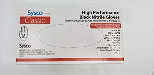 [해외]SYSCO HIGH Performance Blue Nitrile - Medium - Box100 Gloves / SYSCO HIGH Performance Blue Nitrile - Medium - Box100 Gloves