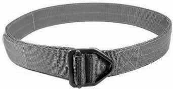 Specter Gear Last Resort Belt, Single Thickness, Gray - Small 30-34in