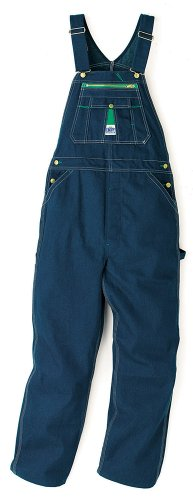 - Liberty Men's Rigid Denim Bib Overall, Rigid Denim, 46x30