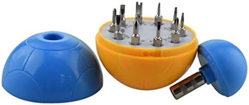 特殊な球状の外観を持つ11の1つのプロの交換可能なミニ電子スクリュードライバービット修復ツール