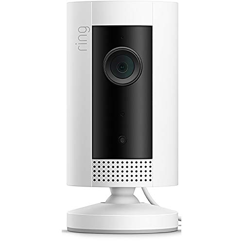 Introducing Ring Indoor Cam, Compact Plug-In HD security camera with two-way talk, White, Works with Alexa (Best Place To Get A Desk)