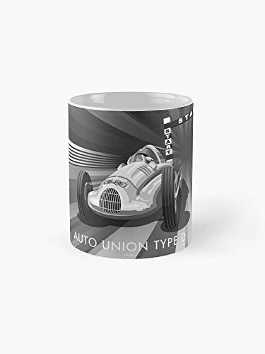 - Auto Union Type D Mug - 11oz Mug - Made from Ceramic