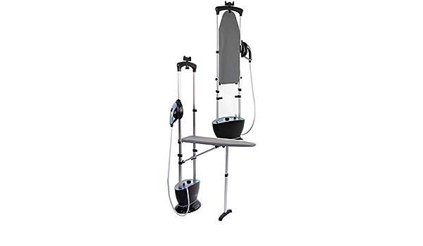 Gecko Steamer Plancha Vertical Alta PRESION 2400 VATIOS 4 Bares Equipada con UNA Tabla DE Planchar para ofrecerle un Aparato 2 EN 1: Amazon.es: Hogar