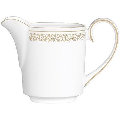 Click for Vera Filigre Gold Vera Wang Fine Bone China Creamer Imperial
