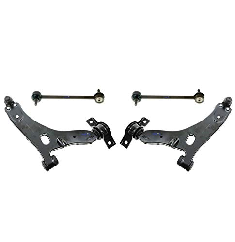 - PartsW 4 Pc Front Suspension Kit for Ford Focus 04-11 Lower Control Arm with Ball Joints Left & Right Side, Sway Bar End Link