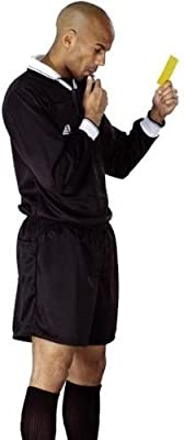 eb2491c4e ZOR Football Referee Kit Shirt + Shorts Soccer Rugby Hockey referee s Shirt    Shorts Kit Uniform