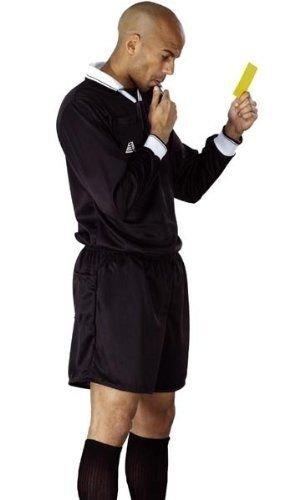 Zor Football Refereeキットシャツ+ショーツサッカーラグビーホッケーRefereeのシャツ&ショーツキットUniformスポーツキット B009PKGPWS  Large