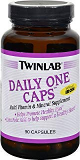 - Twinlab Daily One Caps without Iron - 90 Capsules