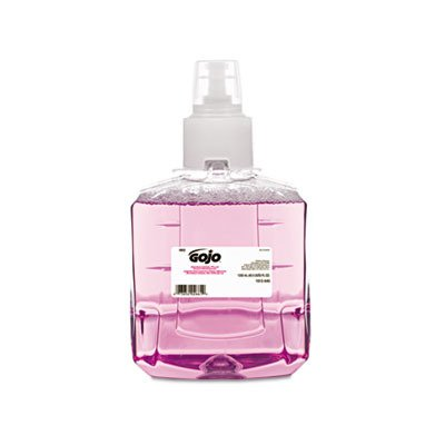 GO JO Industries 1912-02 Antibacterial Foam Hand wash, Plum, 1200mL Refill, 2/Carton by Gojo (Image #1)