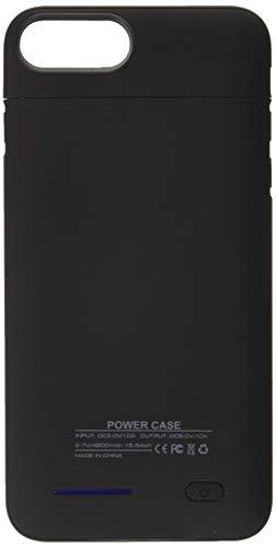 iPhone 8 Plus/7 Plus/6S Plus Battery Case 4200mAh High Capacity Ultra Slim External Charger Case for iPhone 8 Plus/7 Plus/6 Plus/6S Plus with Extra 120% Battery Life (Black-5.5)