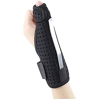 JinPmt luxuriant Thumb movement wristband cover adjustable Estimated Price £3.30 -
