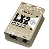 Radial Engineering LX2 Passive Line Splitter & Attenuator