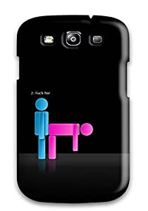 ElsieJM BbgNPfa5975DfBfY Case For Galaxy S3 With Nice The 3 Phases Of Love Appearance