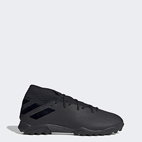 adidas Men's Nemeziz 19.3 Turf Soccer Shoe, Utility Black, 10.5 M US (Soccer Artificial Turf)