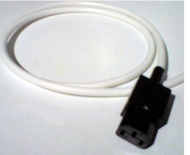 HDIUK 15 m Largo Cable de alimentación con Conector IEC Toma de ...
