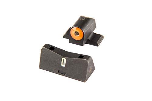 XS Sights DXT2 Pistol Sights (Sig P2s, P320, Springfield XD, XDM, XDS, FN 509, Orange)