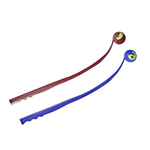 KandyToys TY3577 Thrower with Paw Print Dog Ball Click on image for further info.