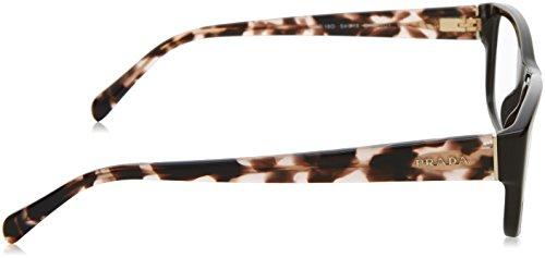 Prada Montures de lunettes 18O Pour Femme Black, 52mm Brown, Beige