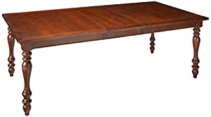 picture of Ashley Furniture Signature Design - Baxenburg Dining Room Table - Separate Extension Leaf Included - Traditional - Brown Finish