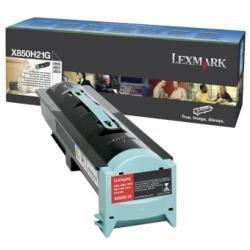 Lexmark X850H21G Black Toner Cartridge (X852e Mfp Laser)