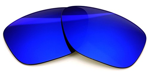 fac3369ce1 Polarized Ikon Iridium Replacement Lenses For Oakley Garage Rock Sunglasses  - Deep Blue Mirror