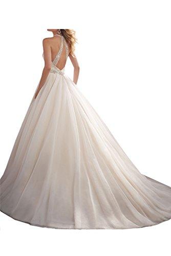 Liebling Abendkleider Festkleid A Lila Damen Hochzeitskleid Steine Linie Ballkleid Lang Ivydressing 5qawTa
