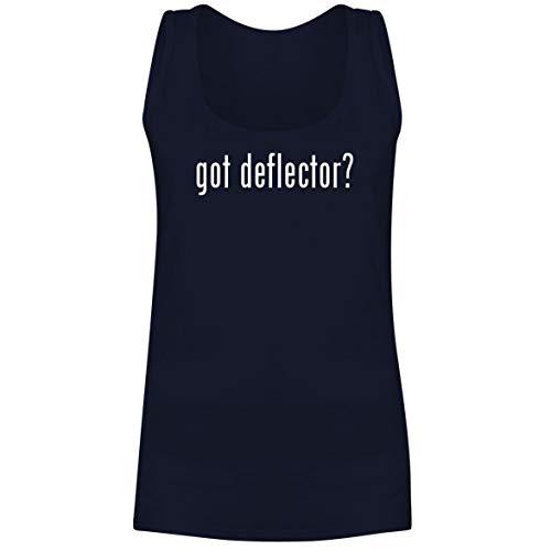 The Town Butler got Deflector? - A Soft & Comfortable Women's Tank Top, Navy, Medium