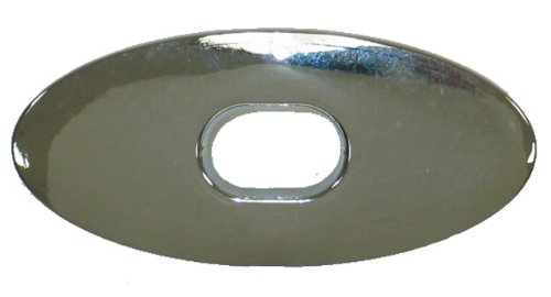 1968-1975 Corvette Soft Top Latch Bezel Rear on Deck (Deck Lid Latch)