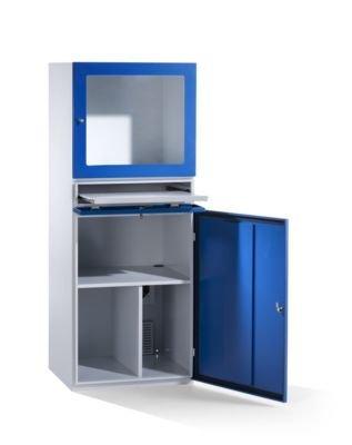 QUIPO PC-Schrank - Schutzart IP42, HxBxT 1625 x 600 x 350 mm - Workstations PC-Schränke Computermöbel Schränke EDV-Mobiliar EDV-Schränke Computerschränke