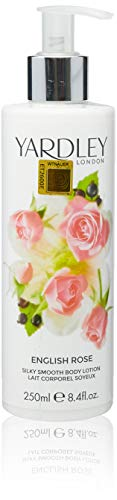 Yardley of London Silky Smooth Body Lotion for Women, English Rose, 8.4 Ounce - Body Moisturizing Lotion Magnolia