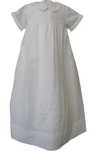 (Feltman Brothers Boys White Christening Gown (NB-3 months) )