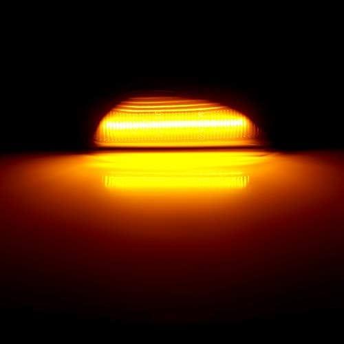 Boomersun LED Seitenblinker Dynamische Blinkleuchte Blinker Schwarz Smoke Passgenau f/ür Ope-l Mokka 2012-2016 Mokka X 2016 ~ Chevrole-t Trax 2013 ~