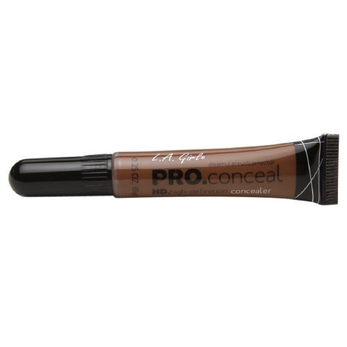 L.A. Girl Pro Conceal HD Concealer, Dark Cocoa 0.25 oz. (8 g) by L.A. Girl