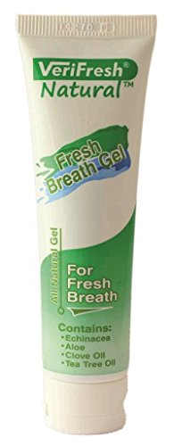 Get Rid of Bad Breath at the Source - VeriFresh All Natural Fresh Breath Gel