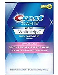 Crest 3D White Gentle Routine Dental Whitening Kit with 14 Treatments