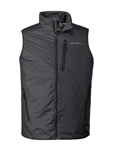 - Eddie Bauer Men's EverTherm Down Vest, Black Regular L